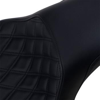 Saddlemen Profiler Seat for 2006-2017 Harley Softail FXST/ FLSTF - Lattice Stitch