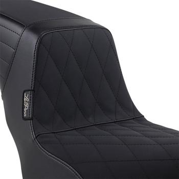 LePera Kickflip Seat for 2018-2020 Harley Softail Fat Boy - Diamond Gripp Tape