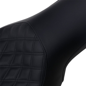 Saddlemen Profiler Seat for 2006-2017 Harley Dyna FXD - Lattice Stitch