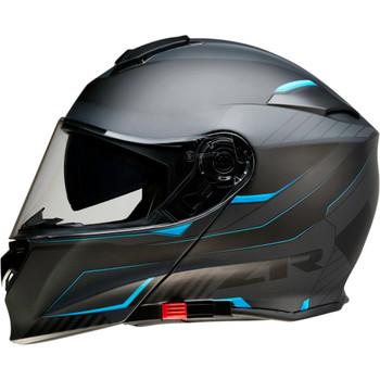 Z1R Solaris Modular Scythe Helmet - Black/Blue