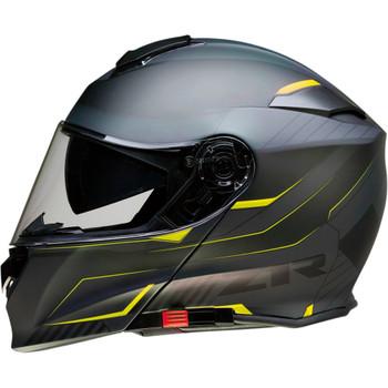 Z1R Solaris Modular Scythe Helmet - Black/Hi-Vis Yellow