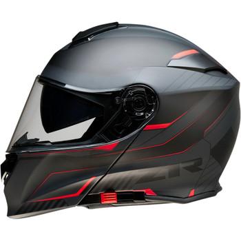 Z1R Solaris Modular Scythe Helmet - Black/Red