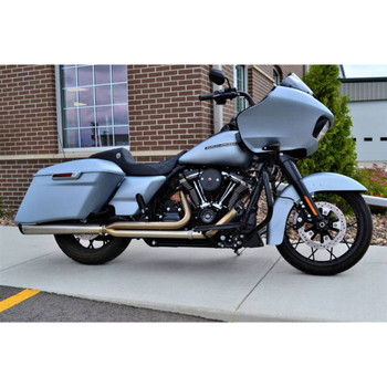 Jackpot RTX 2-1 Exhaust for 2017-2020 Harley Touring - Stainless Steel