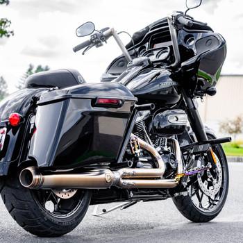Horsepower Inc. Full Length Stainless 2-1 Exhaust 2017-2020 Harley Touring