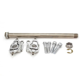 Kraus Vector One Rear Axle Adjuster Kit for 2009-2020 Harley Touring - Polished