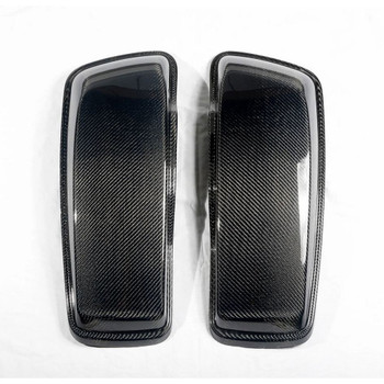 Hofmann Designs Carbon Fiber Saddlebag Lids for 2014-2020 Harley Touring
