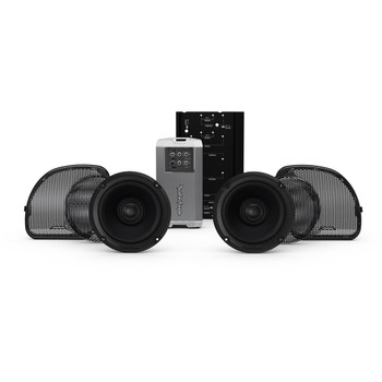 Rockford Fosgate Stage-2 Speaker and Amp Kit for 2015-2020 Harley Touring