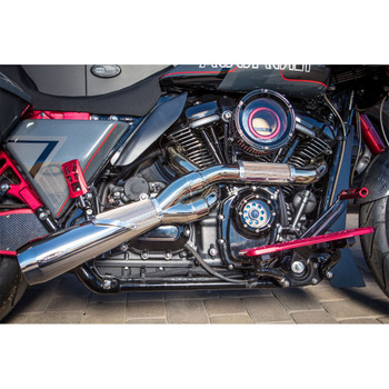 Trask High Performance Motor Big Sexy 2-1 Exhaust for for 2017-2020 Harley Touring - Polished Stainless