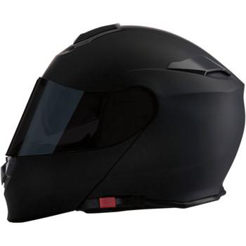 Z1R Solaris Smoke Modular Helmet - Flat Black