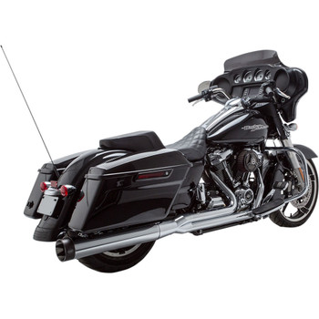 S&S Sidewinder 2-1 Exhaust for 2017-2020 Harley Touring - Chrome