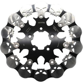 """Galfer 11.5"""" Full-Floating Skull Front Brake Rotor for 2000-2014 Harley"""