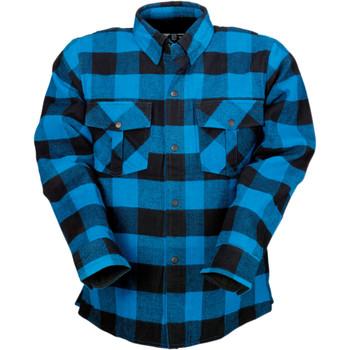 Z1R Duke Flannel Shirt - Blue/Black