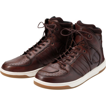 Z1R Frontline Leather Boots - Brown