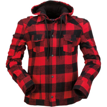 Z1R Women's Timberella Flannel Shirt - Red