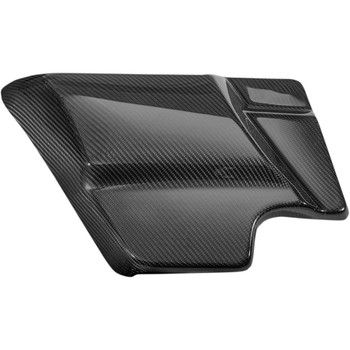 Slyfox Carbon Fiber Side Covers for 2014-2020 Harley Touring - Gloss