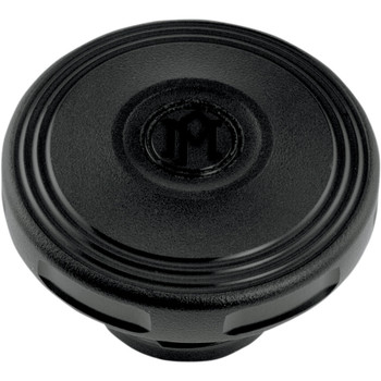 Performance Machine Merc Gas Cap for 1997-2020 Harley - Black Ops
