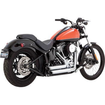 Vance & Hines Shortshots Staggered Exhaust for 2012-2017 Harley Softail - Chrome