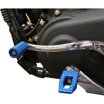 Thrashin Supply P-54 Slim Foot Pegs for Harley - Blue