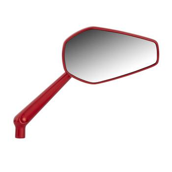Arlen Ness Mini Stocker Mirrors for Harley - Red