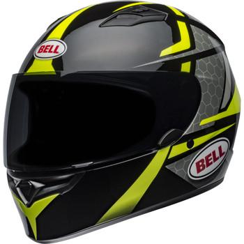 Bell Qualifier Flare Helmet - Gloss Black/Hi-Viz