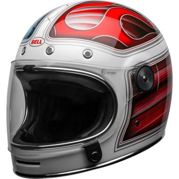 Bell Bullitt Helmet - Barracuda Gloss White/Red/Blue