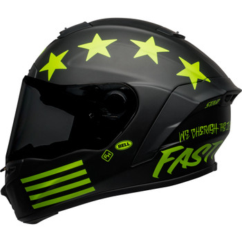 Bell Star MIPS DLX Helmet - Fasthouse Victory Circle Matte Black/Hi-Viz