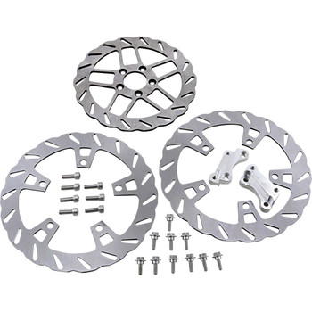 Trask Over-Sized Brake Rotor Kit for 2014-2020 Harley Touring
