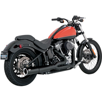 Vance & Hines Pro Pipe 2-1 Exhaust for 2012-2017 Harley Softail FXS/ FLS/ FLST - Black