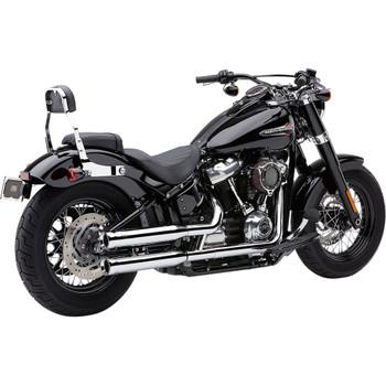 Cobra Neighbor Hater Mufflers for 2018-2020 Harley Softail Models - Chrome