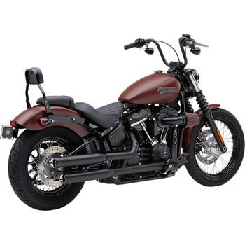 Cobra Neighbor Hater Mufflers for 2018-2020 Harley Softail Models* - Black