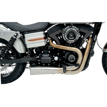 Vance & Hines Competition 2-1 Exhaust for 2006-2017 Harley Dyna - Stainless