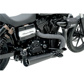 Vance & Hines Competition 2-1 Exhaust for 2006-2017 Harley Dyna - Black