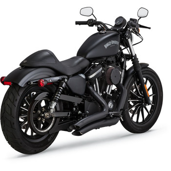 Vance & Hines Big Radius Exhaust for 2014-2020 Harley Sportster - Black