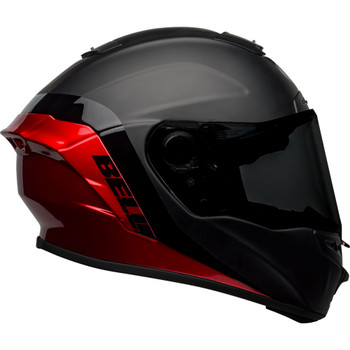 Bell Star MIPS DLX Helmet - Shockwave Matte/Gloss Black/Candy Red