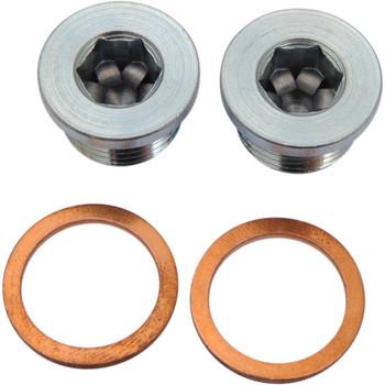 Vance & Hines 18mm O2 Oxygen Sensor Port Plug Kit for Harley Models