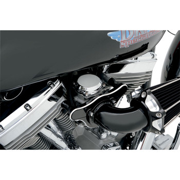 Drag Specialties Smooth Chrome CV Carb Top Cover for Big Twin & XL Models