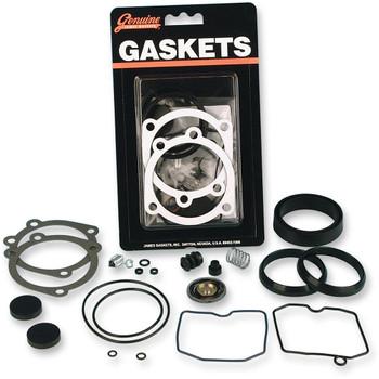 Genuine James Gasket Carb Rebuild Kit for 1988-2006 Harley Keihin CV Carbs