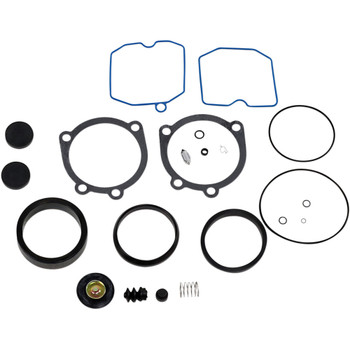 Genuine James Gasket Carb Rebuild Kit for 1988-2006 Harley Keihin CV Carbs