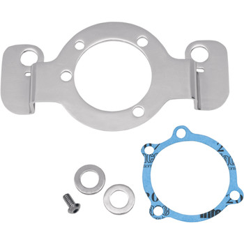 Drag Specialties Chrome Air Cleaner Support Bracket on 2007-2020 Harley Sportster