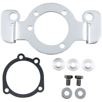 Drag Specialties Chrome Air Cleaner Support Bracket on 1988-2006 Harley Sportster