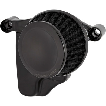 Arlen Ness Mini 22° Air Cleaner for 1999-2017 Harley Twin Cam Cable Throttle - Black