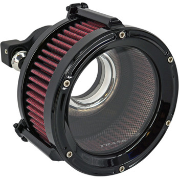 Trask Assault Charge High-Flow Air Cleaner for 1991-2020 Harley Sportster - Gloss Black
