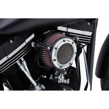 Cobra RPT Air Cleaner for 2017-2020 Harley Touring Models - Black/Chrome