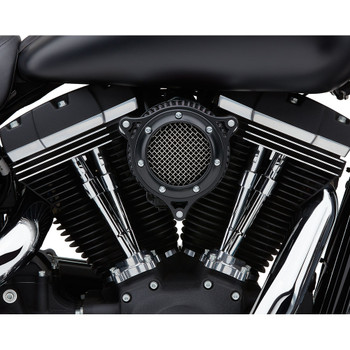 Cobra RPT Air Cleaner for 1999-2017 Harley Twin Cam Cable Throttle - Black