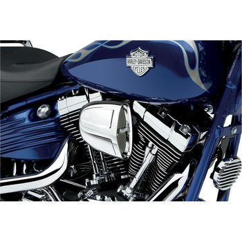 Cobra PowrFlo Air Cleaner for 1999-2017 Harley Twin Cam Cable Throttle - Chrome