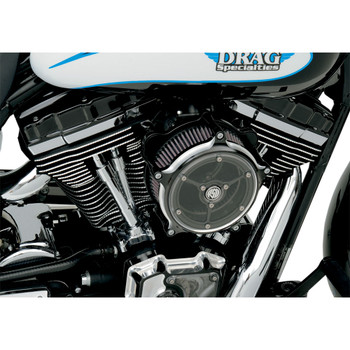 Roland Sands Clarity Air Cleaner for 1999-2017 Harley Twin Cam Cable Throttle - Contrast Cut