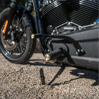 Arlen Ness AirTrax Foot Pegs for Harley - Brass