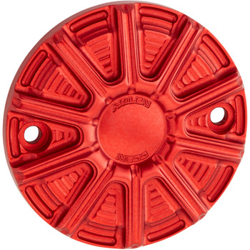 Arlen Ness 10-Gauge Points Cover for 2017-2020 Harley M8 - Red