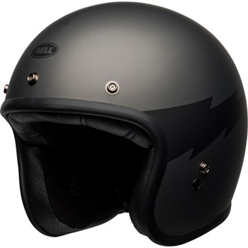Bell Custom 500 Helmet - Thunderclap Matte Gray/Black