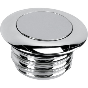 Drag Specialties Non-Vented Pop-Up Gas Cap for 1996-2020 Harley - Chrome